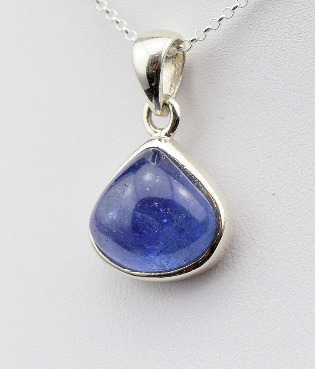 Pds 0586 Tanzanite Pendant in Sterling Silver (SOLD)