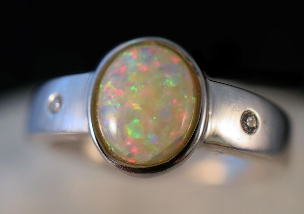 Rs0178 Opal Ring