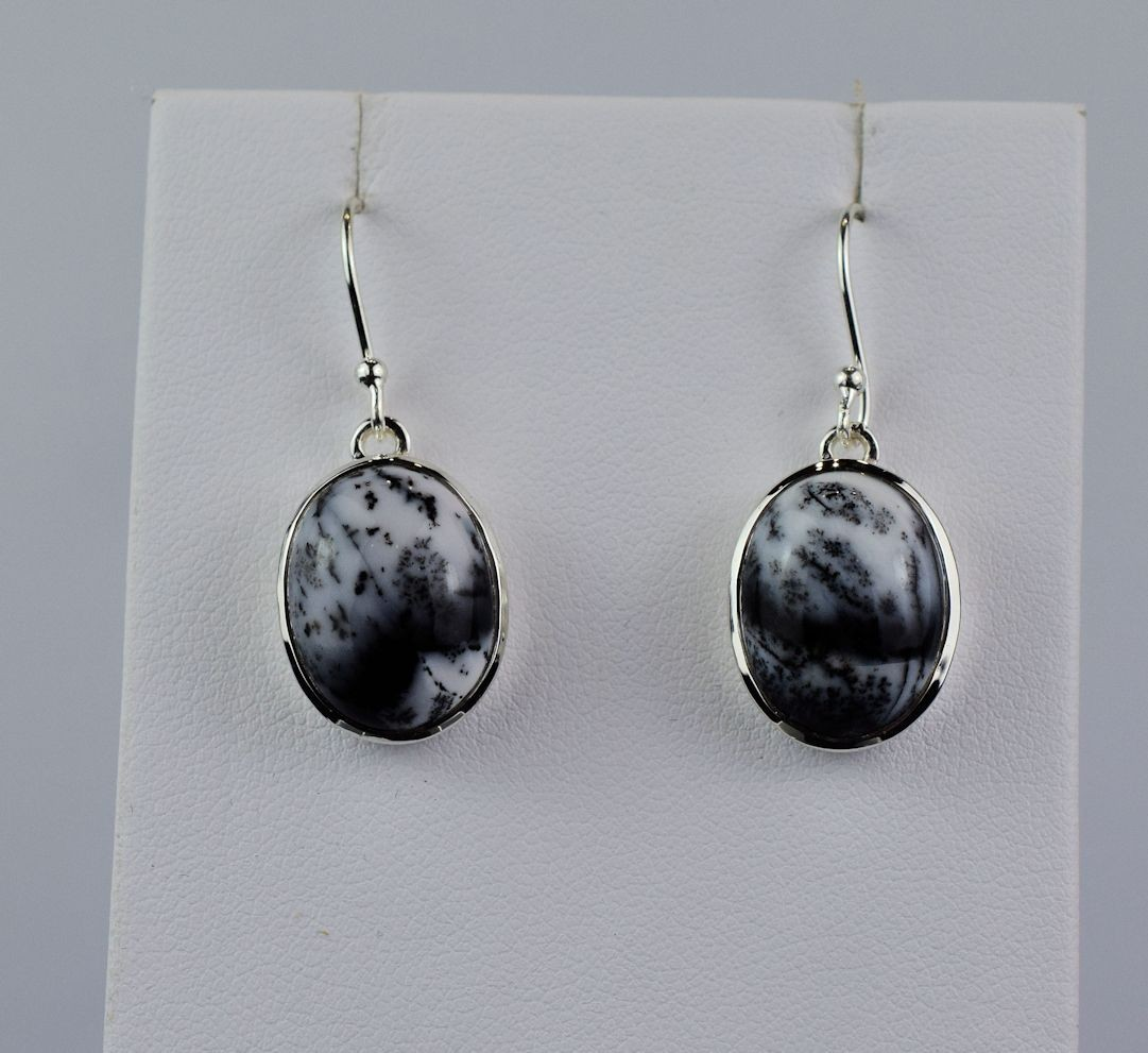 ES0249 Dendritic Agate in Sterling Silver (SOLD)