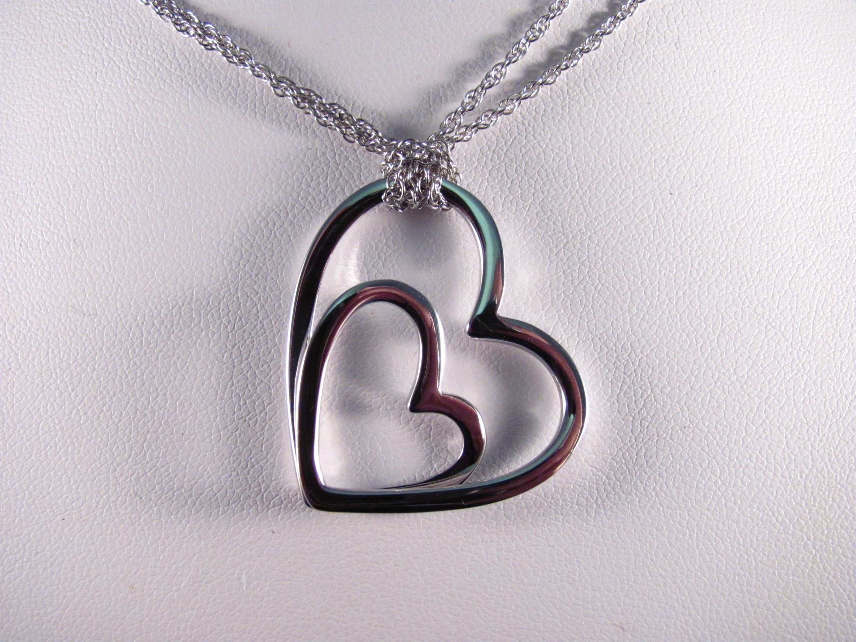 PdS0313 - Heart Pendant in Sterling Silver (SOLD)