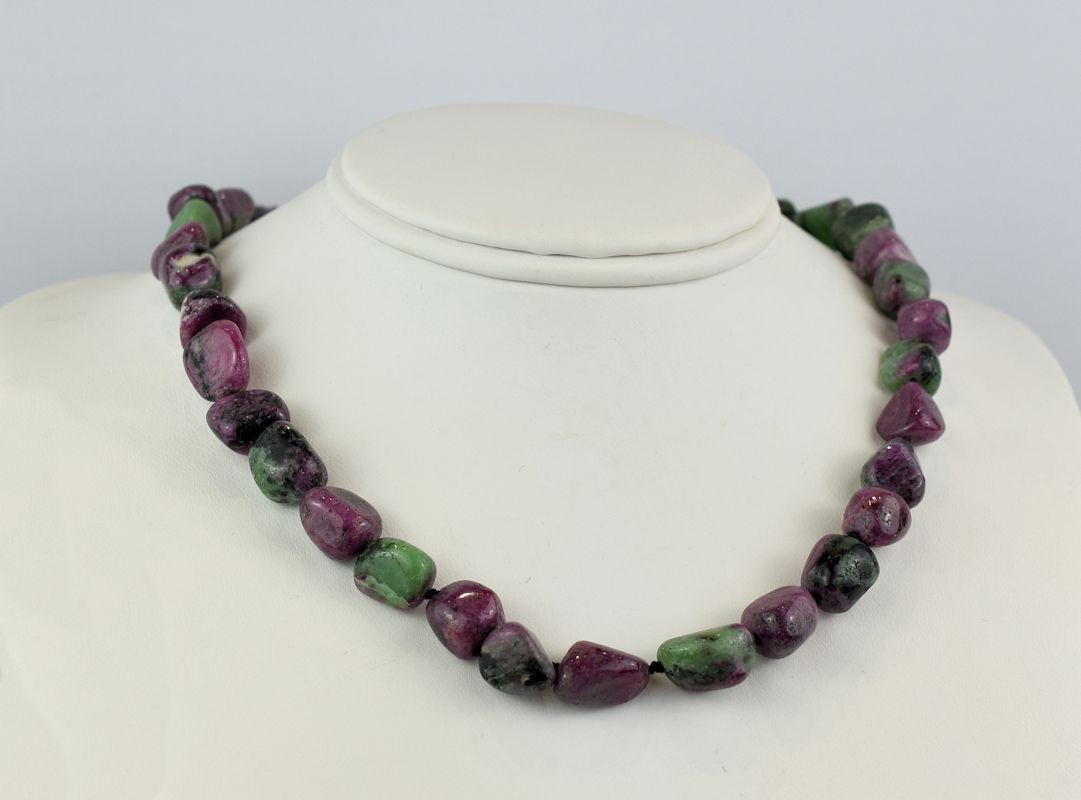 NS0095 Ruby Zoisite Beads (SOLD)