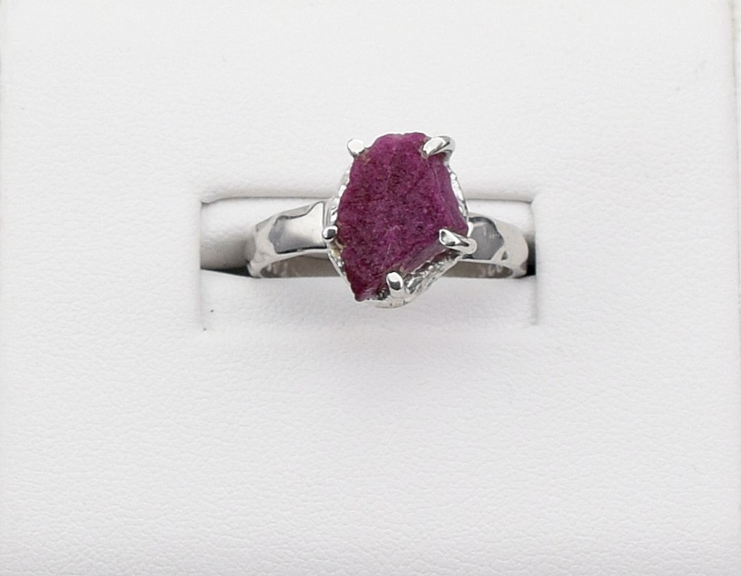 RS0164 Rough Ruby Ring (SOLD)