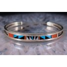 Bna0029 Multi Color Inlay Bracelet