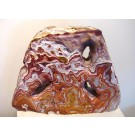HD0078 - Large Red and White Sandstone Sculpture (SOLD)