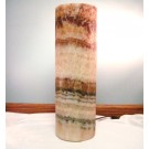 HD0098 - Large Cylindrical Travertine Lamp