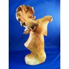 HD0166 - Chinaberry Wood Moose Carving (SOLD)