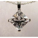 PdS0446 - Pollucite Pendant in Sterling Silver (SOLD)