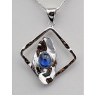 Pds 0598 Kyanite Pendant in Sterling Silver (SOLD)