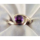 RS0152 - Amethyst Ring in Sterling Silver